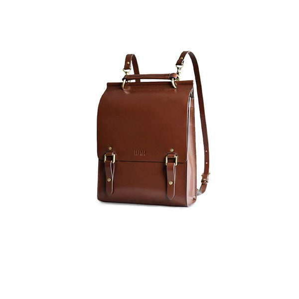Stylish Women's Leather Backpack Purse Cool Backpacks for Women cute