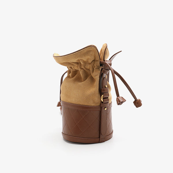 Stylish Womens Bucket Bag Leather Crossbody Bags Purse for Women beautiful