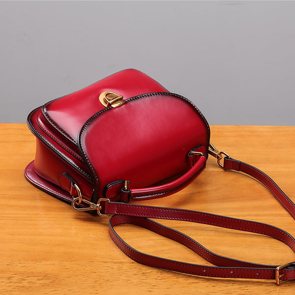 Stylish Womens Genuine Leather Satchel Bag Crossbody Bags for Women Genuine Leather