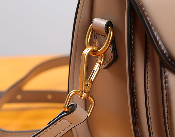 Stylish Womens Genuine Leather Satchel Bag Crossbody Bags for Women Handmade