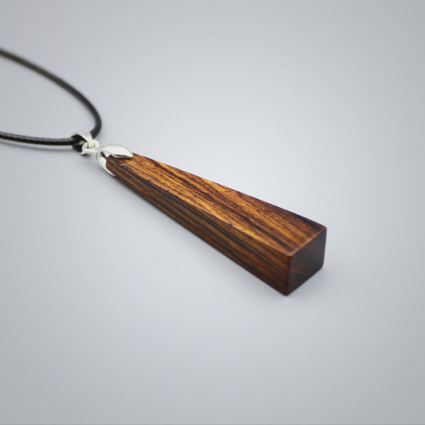 Unique Wooden Pendant Necklace Handmade Couple Jewelry Accessories for Women Men