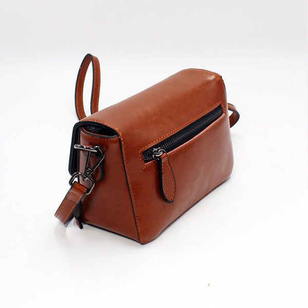 Vintage Handmade Leather Crossbody Shoulder Bags Purses Accessories Gifts Women back