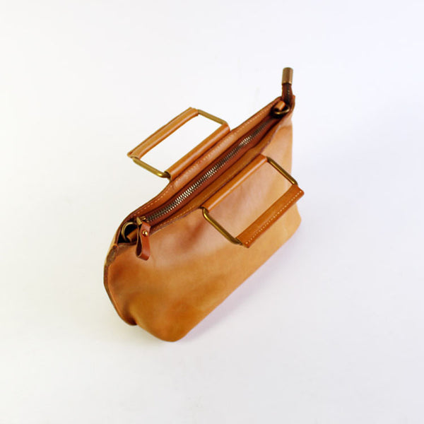 Vintage Handmade Leather handbag Crossbody Shoulder Motorcycle Bags Purses Accessories Women Gifts