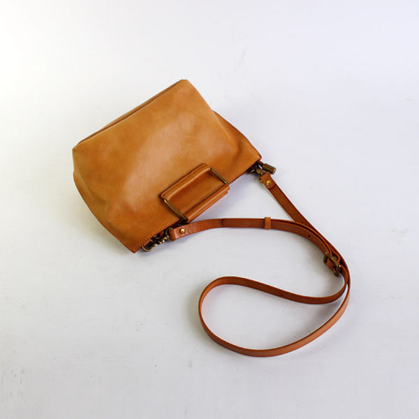 Vintage Handmade Leather handbag Crossbody Shoulder Motorcycle Bags Purses Accessories Women cool
