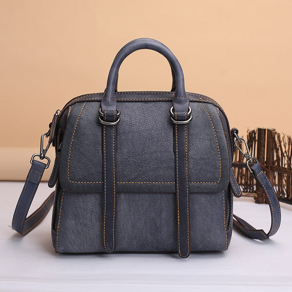 Vintage Leather Women Handbags Leather Crossbody Bags Purses for Women Accessories