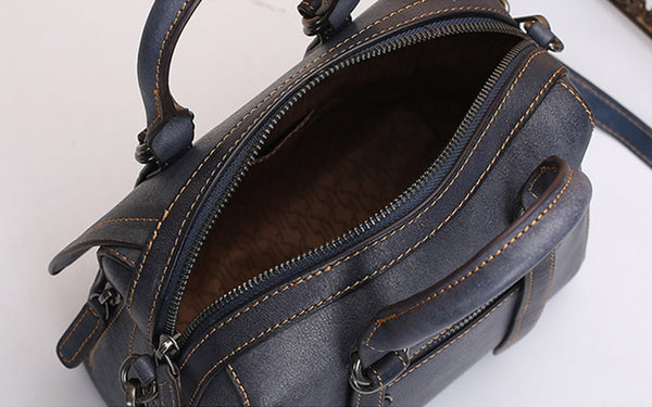 Vintage Leather Women Handbags Leather Crossbody Bags Purses for Women Boutique