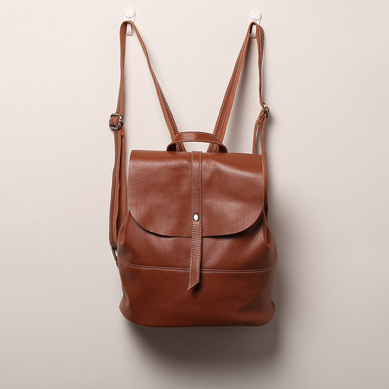 Vintage Leather Womens Backpack Purse Cool Backpacks for Women best