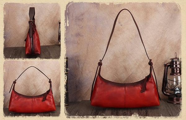 Vintage-Small-Ladies-Leather-Shoulder-Bag-Purse-Handbags-For-Women-Chic