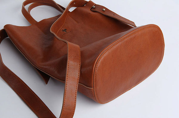 Vintage Women Genuine Leather Tote Bag Handbags Shoulder Bag for Women Boutique
