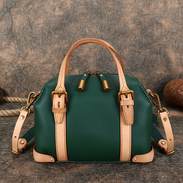 Vintage Women's Genuine Leather Handbags Crossbody Sling Bags Purse for Women Beautiful