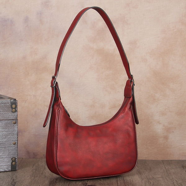 Vintage Womens Leather Boho Bag Shoulder Handbags Purse for Women Affordable