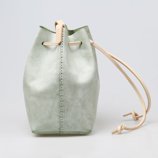 Wax Leather Bucket Bag Womens Crossbody Bags Shoulder Bag for Women beautiful