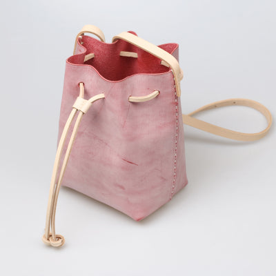 Wax Leather Bucket Bag Womens Crossbody Bags Shoulder Bag for Women fashion