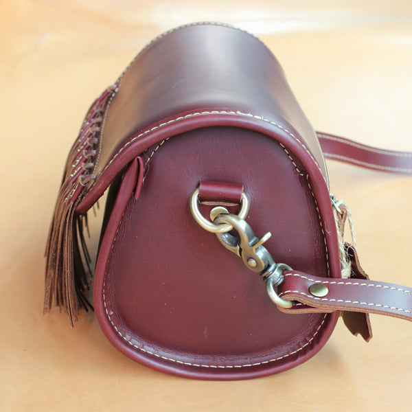 Western Womens Leather Purses With Fringe Cute Crossbody Bags for Women Affordable