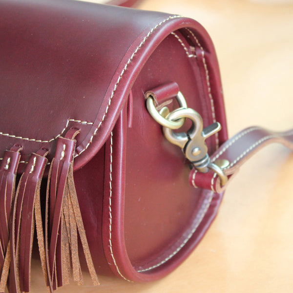 Western Womens Leather Purses With Fringe Cute Crossbody Bags for Women Beautiful