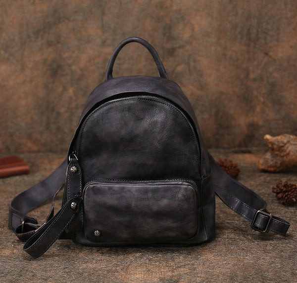 Women Leather Small Backpack Purse Cute Backpacks for Women beautiful