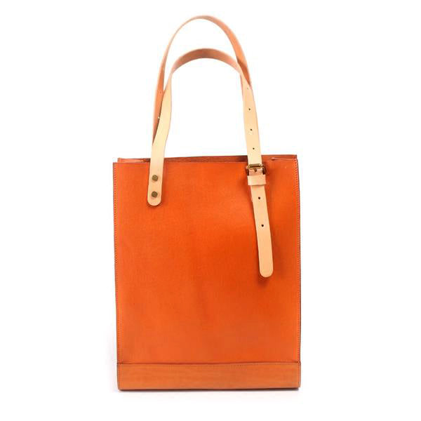 Women Minimalist Brown Leather Tote Bag Handbag Shoulder Bag for Women best