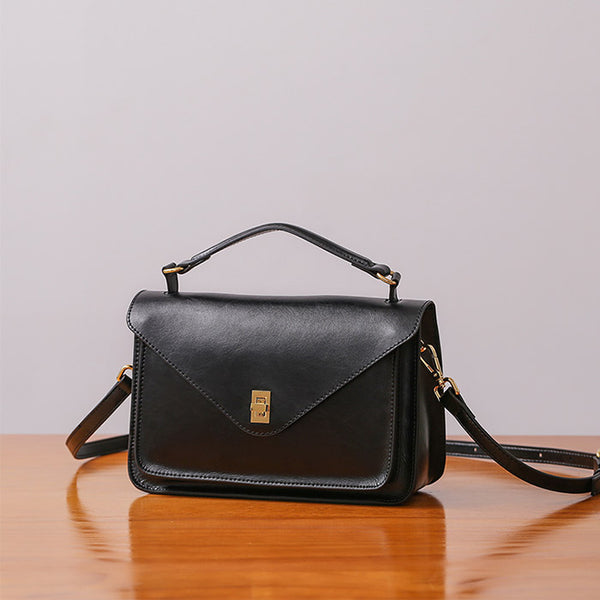Women Stylish Leather Satchel Bag Crossbody Bags Purses for Women Details