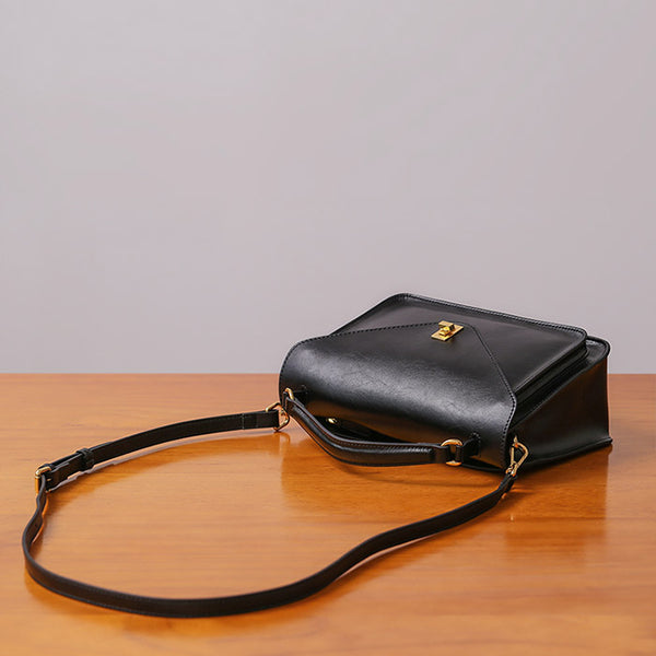 Women Stylish Leather Satchel Bag Crossbody Bags Purses for Women Genuine Leather