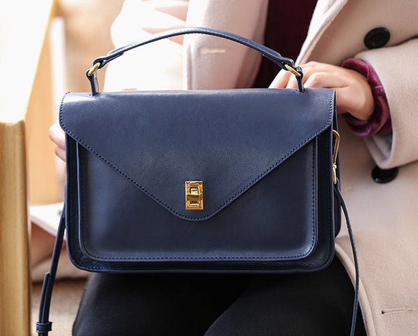 Women Stylish Leather Satchel Bag Crossbody Bags Purses for Women work bag