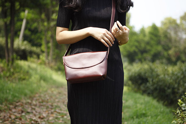 Women's Genuine Leather Crossbody Bags Shoulder Bag Purses For Women Details