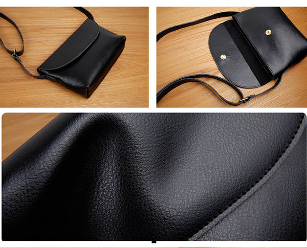 Women's Genuine Leather Crossbody Bags Shoulder Bag Purses For Women Genuine Leather