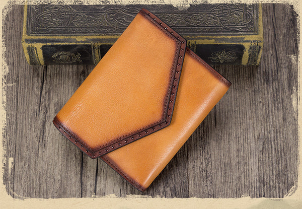 Women's Genuine Leather Trifold Wallet with Coin Pocket and Card Holder Best
