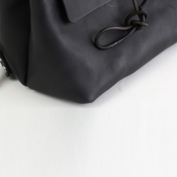 Womens Black Leather Backpack Bag Fashion Backpacks Purses for Women Details