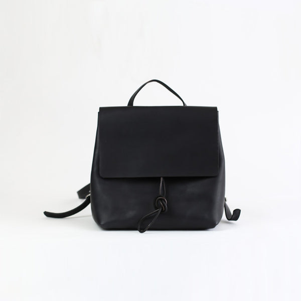 Womens Black Leather Backpack Bag Fashion Backpacks Purses for Women