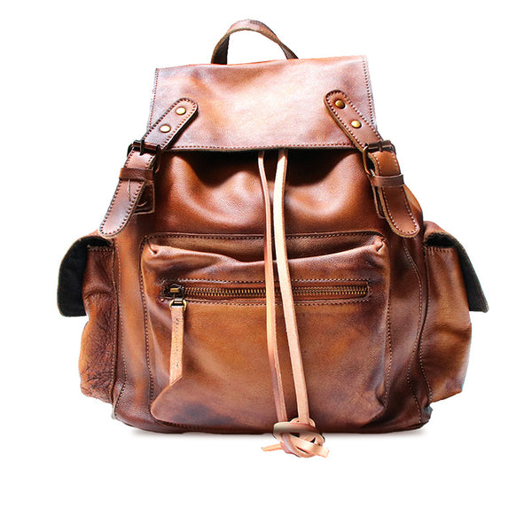 Womens Cool Leather Backpacks