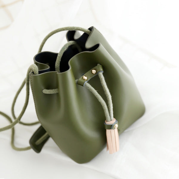 Small Leather Women's Crossbody Bags Shoulder Bags for Women