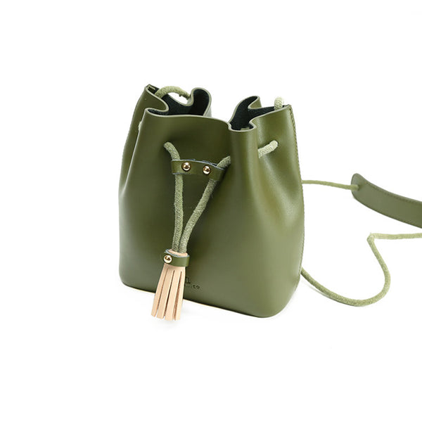 Womens Cute Leather Crossbody Bags Small Shoulder Bags for Women Handmade