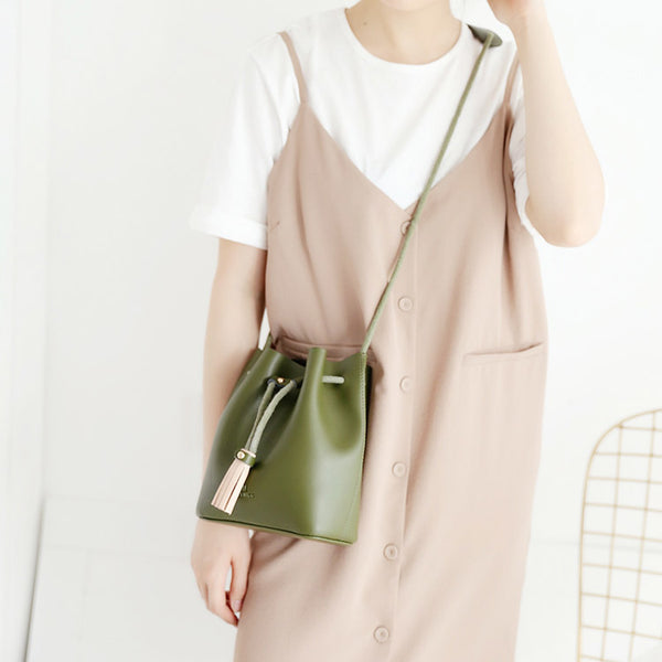 Womens Cute Leather Crossbody Bags Small Shoulder Bags for Women Genuine Leather