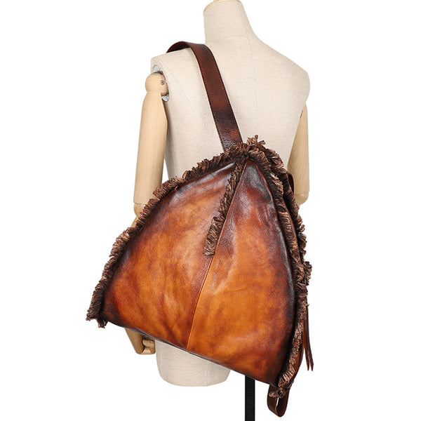 Womens Designer Leather Backpack Purse Small Rucksack Bags For Women Cool