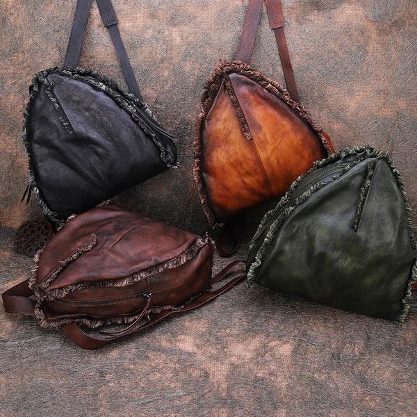 Womens Designer Leather Backpack Purse Small Rucksack Bags For Women Cute