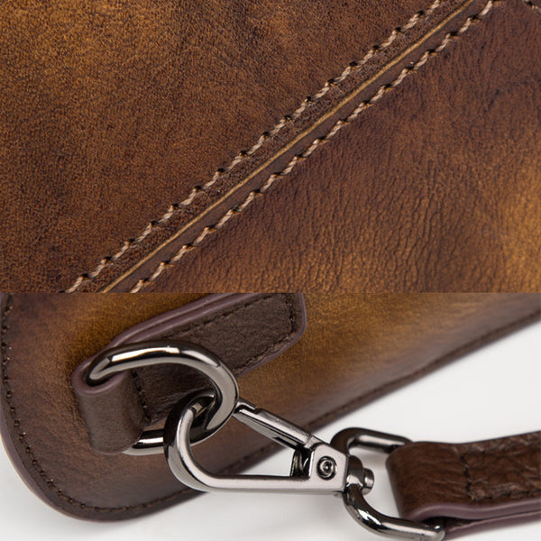 Womens Embossed leather Handbags Leather Crossbody Bags for Women Details