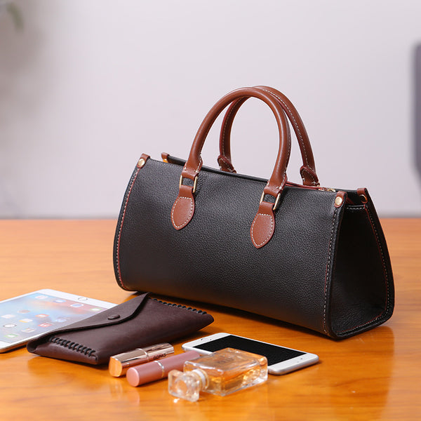 Womens Genuine Leather Handbags Crossbody Bags Purses for Women Accessories