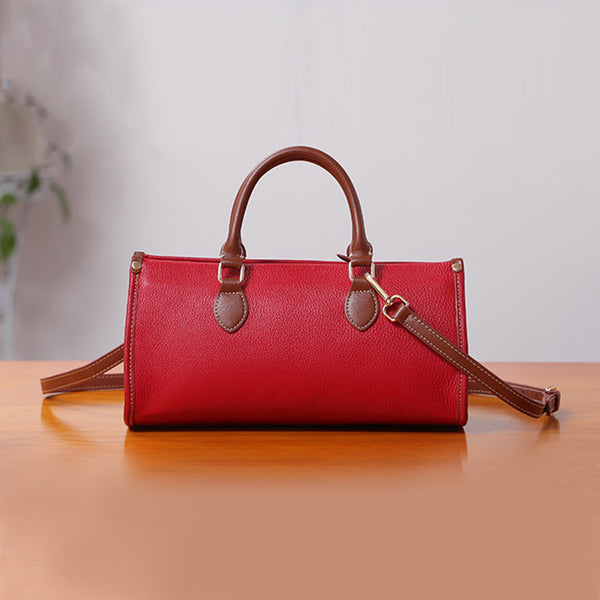 Womens Genuine Leather Handbags Crossbody Bags Purses for Women cowhide