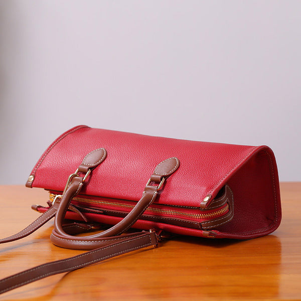 Womens Genuine Leather Handbags Crossbody Bags Purses for Women cute