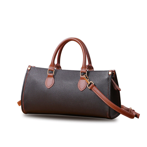 Womens Genuine Leather Handbags Crossbody Bags Purses for Women