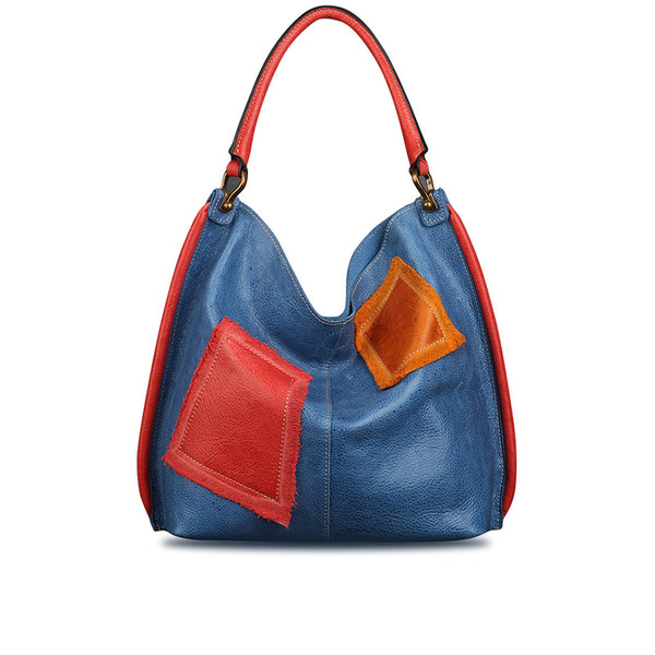 Womens Genuine Leather Hobo Handbags