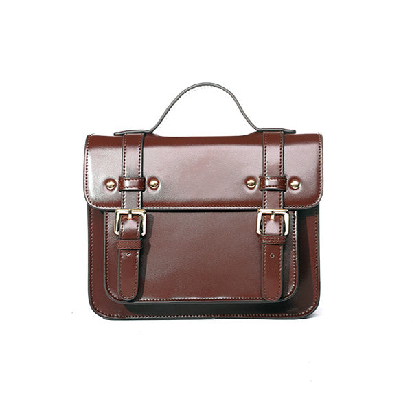Womens Leather Satchel Bag Leather Crossbody Bag for Women Vintage Bag beautiful gift