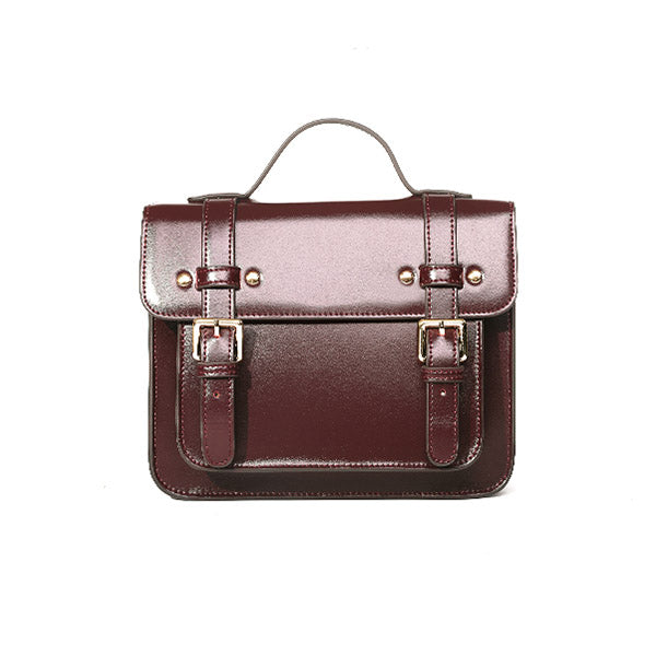 Womens Leather Satchel Bag Leather Crossbody Bag for Women Vintage Bag genuine leather