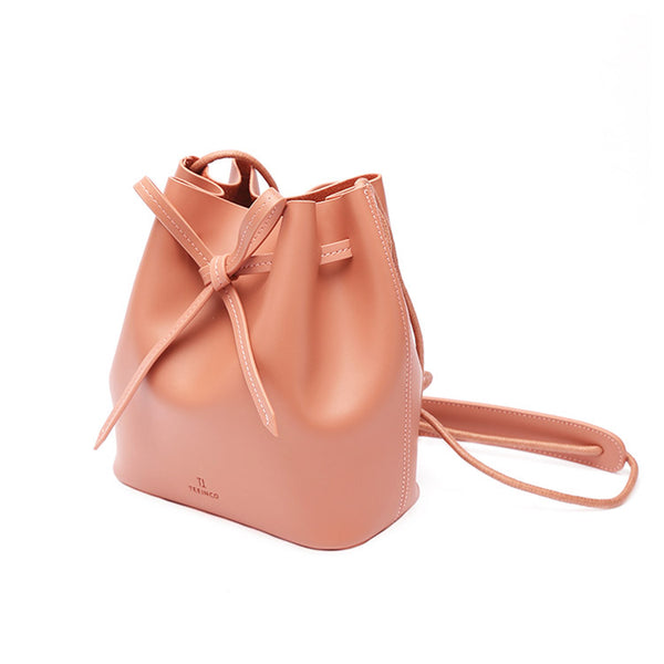 Womens Pink Leather Crossbody Bags Small Leather Shoulder Bags for Women designer