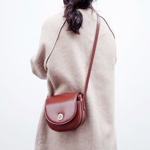 Womens Red Leather Crossbody Bags Small Crossbody Purse for Women shoulder bag Boutique