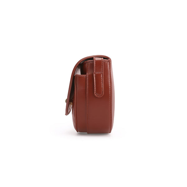 Womens Red Leather Crossbody Bags Small Crossbody Purse for Women shoulder bag Genuine Leather