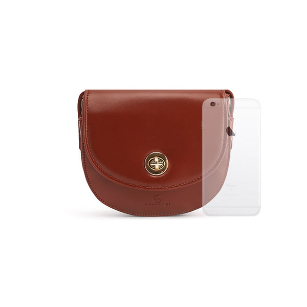 Womens Red Leather Crossbody Bags Small Crossbody Purse for Women shoulder bag Minimalism