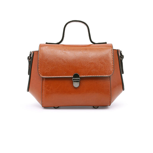Womens Small Leather Crossbody Bags Leather Shoulder Bag Purses for Women Genuine Leather