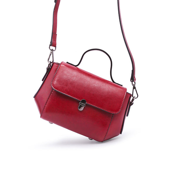 Womens Small Leather Crossbody Bags Leather Shoulder Bag Purses for Women Satchel bag fashion