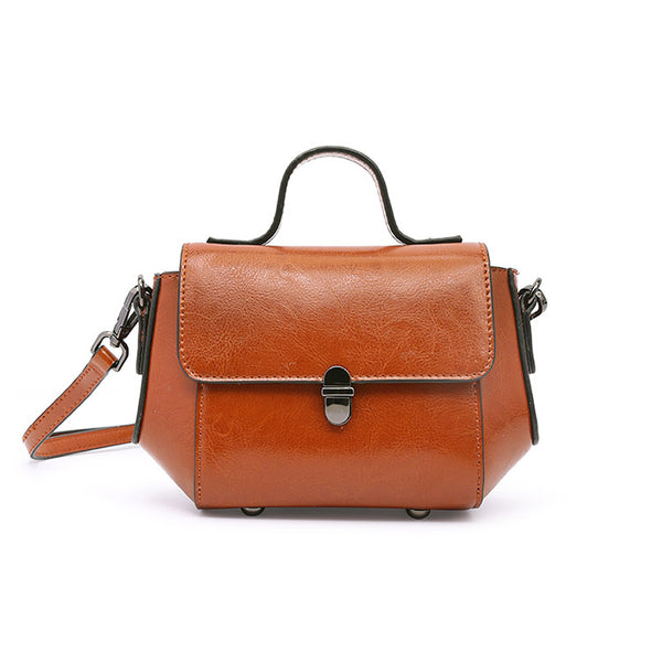 Womens Small Leather Crossbody Bags Leather Shoulder Bag Purses for Women work bag